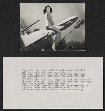 thumbnail image for <em>The Santa Monica ride</em>, accompanied by typewritten statement