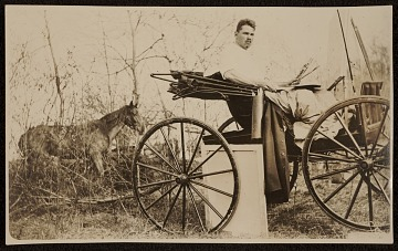 thumbnail image for Robert Strong Woodward in a buggy
