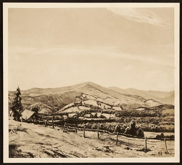 thumbnail image for 'Mountains in Vermont' by Robert Strong Woodward
