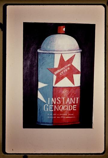 thumbnail image for <em>Peace on Earth Good Will Towards Men aka Instant Genocide</em> by Felipe Reyes