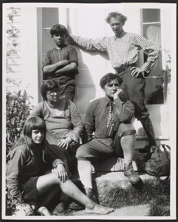 thumbnail image for William and Marguerite Zorach with their children Tessim and Dahlov, and Bertram Hartman in Robinhood Cove, Maine