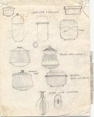 thumbnail image for Sketches of Pots