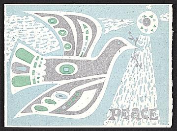 thumbnail image for Gordon Kensler Christmas card to Kathleen Blackshear and Ethel Spears