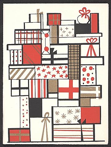 thumbnail image for Gordon Kensler christmas card to Kathleen Blackshear
