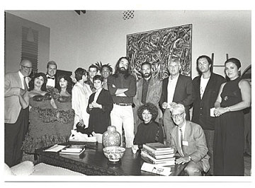 thumbnail image for A photograph of the artists included in the <i>Cuban Artists of the XXth Century</i> exhibition