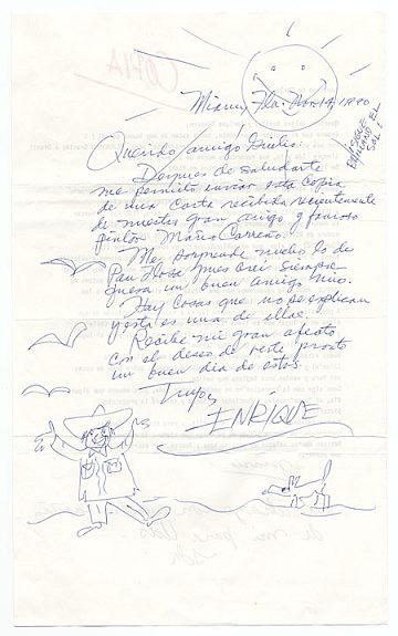 thumbnail image for Enrique Riverón, Coconut Grove, Fla. to Giulio V. Blanc, Miami, Fla.