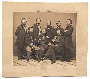 thumbnail image for Portrait of eight American artists.