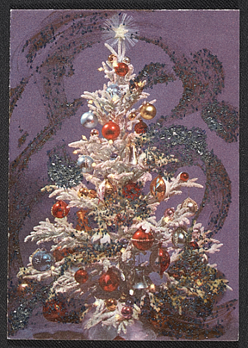 thumbnail image for Carolee Schneemann christmas card to Joseph Cornell