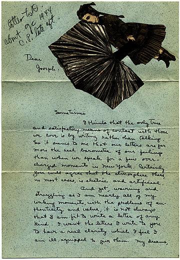 thumbnail image for Dorothea Tanning to Joseph Cornell