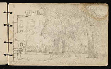 thumbnail image for Palmer Hayden sketchbook of New York and Paris