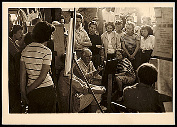 thumbnail image for Class at the Hans Hofmann School of Fine Arts, Provincetown