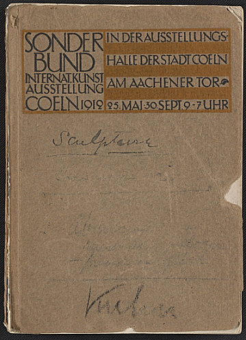 thumbnail image for Internationale Kunstausstellung des Sonderbundes Westdeutscher Kunstfreunde und Künstler