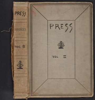 thumbnail image for Walt Kuhn scrapbook of press clippings documenting the Armory Show, vol. 2