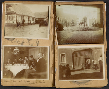 thumbnail image for Walt Kuhn volume 3 photo album, Germany