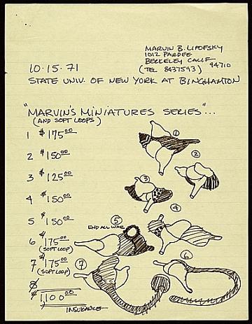 thumbnail image for Marvin B. Lipofsky, Berkeley, Calif. letter to State University of New York at Binghamton