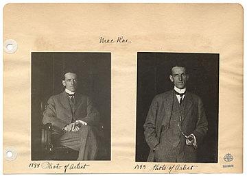 thumbnail image for Two photographs of Elmer L. MacRae
