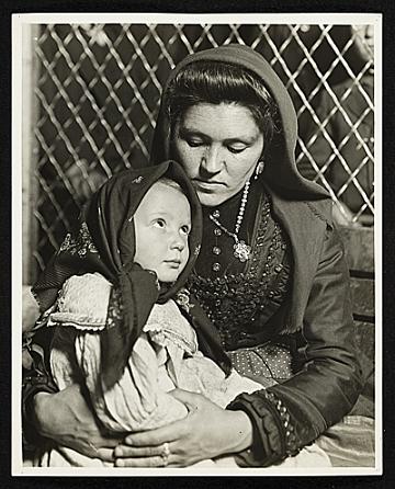 thumbnail image for Peace, an Ellis Island Madonna
