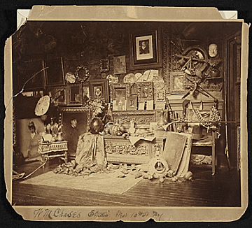 thumbnail image for W.M. Chase's studio, West 10th St. N.Y.