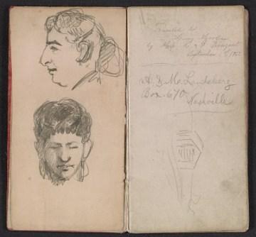thumbnail image for Henry Mosler Civil War diary