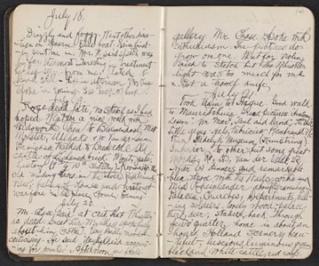 thumbnail image for Walter Pach diary