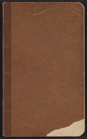 thumbnail image for Walter Pach notebook