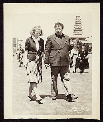 thumbnail image for Emmy Lou Packard and Diego Rivera