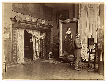 thumbnail image for John Singer Sargent in his studio