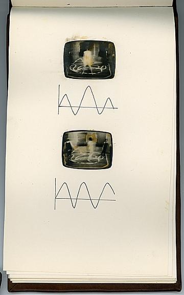thumbnail image for Artist book based on the <em>Triadic Tapes</em>