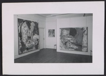thumbnail image for Installation view of Helen Frankenthaler's fifth show at the Tibor de Nagy Gallery