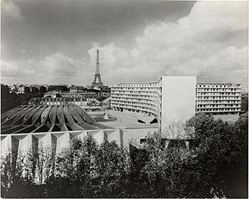 thumbnail image for UNESCO Headquarters in Paris. Marcel Breuer and Bernard Zehrfuss, Architects; Pier Luigi Nervi, Structural Engineer