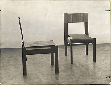 thumbnail image for Side chair designed by Marcel Breuer