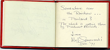 thumbnail image for William Brown autograph book