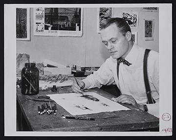 thumbnail image for Albert Christ-Janer papers, 1915-circa 1993, bulk 1930-1981