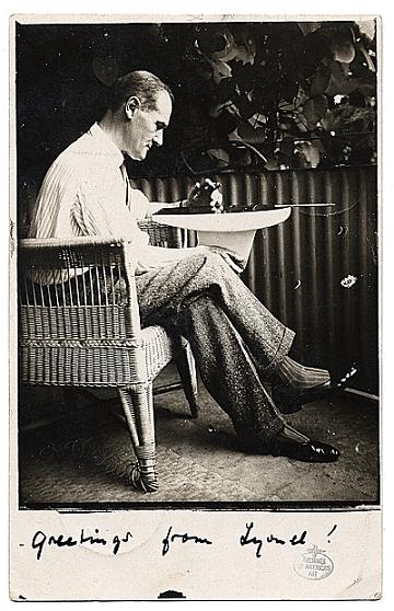 thumbnail image for Alfred Vance Churchill papers regarding Lyonel Feininger, 1888-1944