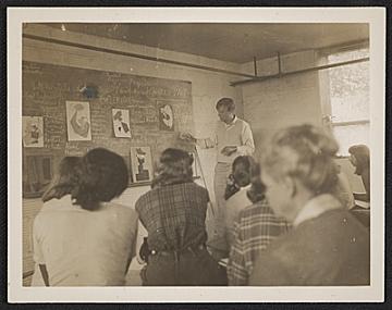 thumbnail image for Robert Motherwell teaching at Black Mountain Rock
