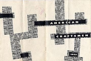thumbnail image for <em>American Craftsmen</em> exhibition catalog