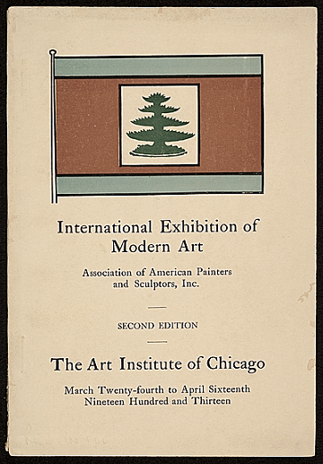 thumbnail image for <em>International Exhibition of Modern Art</em>, Art Institute of Chicago, Chicago, Ill., second edition