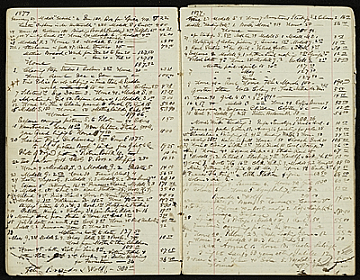 thumbnail image for Henry Mosler account book