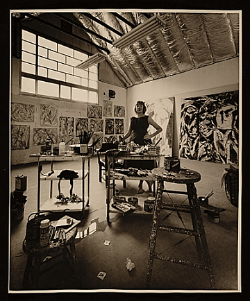 thumbnail image for Hans Namuth photographs and papers, 1952-ca. 1985, (bulk 1953- 1970)