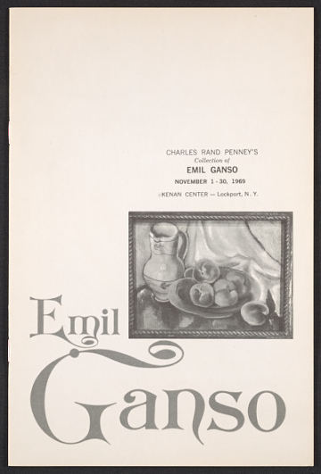 thumbnail image for Charles Rand Penney papers, 1923-1994, bulk 1945-1994