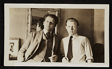 thumbnail image for Jackson Pollock and Charles Pollock in New York