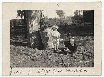 thumbnail image for Jackson Pollock as a young boy feeding ducks