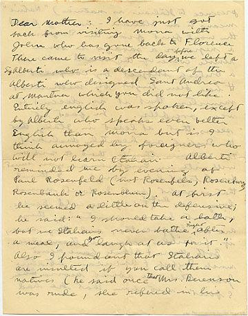 thumbnail image for Fairfield Porter to Ruth Porter
