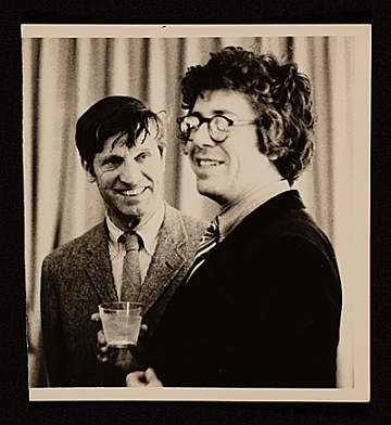 thumbnail image for Fairfield Porter with poet Kenneth Koch