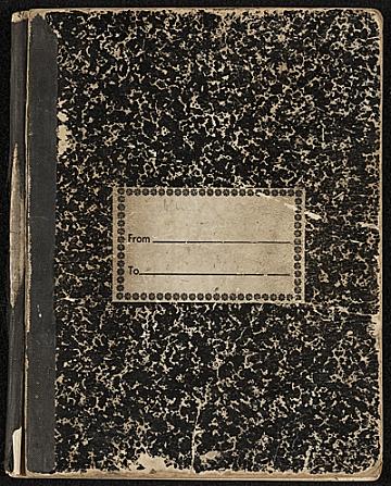 thumbnail image for Fairfield Porter sketchbook