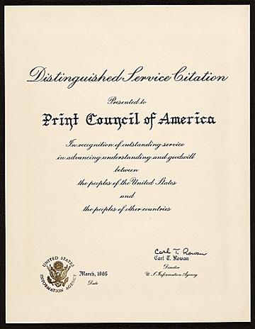 thumbnail image for Distinguished Service Citation
