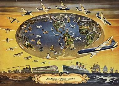 "Pan Am ""The Progress of Transportation"""