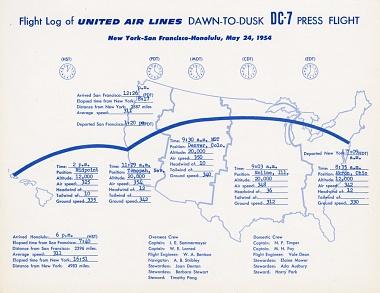 Dawn-to-Dusk Flight Log