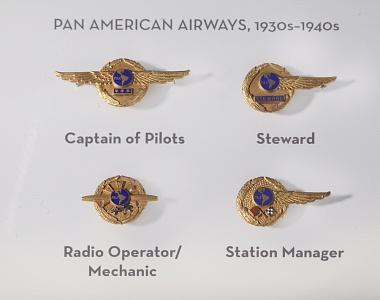 Airway Badges, 1930s-1940s