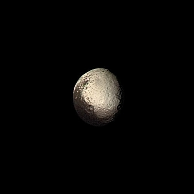 Iapetus Bright and Dark Terrains